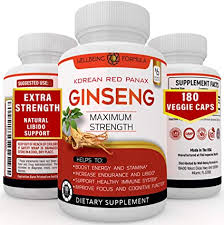 Amazon.com: 180 Capsules-Korean Red Panax Ginseng Extract-1000mg High  Ginsenosides Extra Strength Red Ginseng Root Powder-Natural Energy &  Performance Enhancement Pills-Sexual Wellness Supplements for Men & Women:  Health & Personal Care