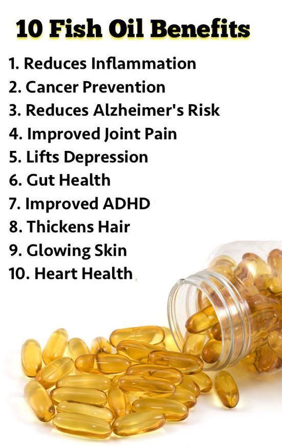 10 fish oil benefits